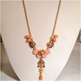 Product thumbnail: Butterfly, Flower and Rhinestones Orange