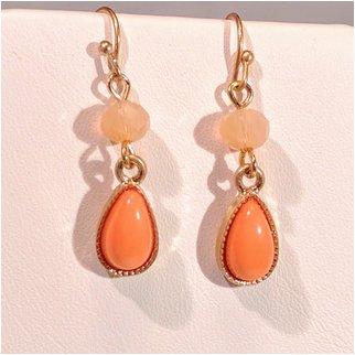 Product thumbnail: Orange Drop Earrings