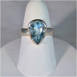 Product thumbnail: Blue Topaz Triangle Shape