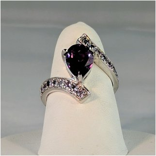 Product thumbnail: Amethyst Marquise with CZ