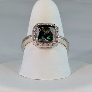 Product thumbnail: Mystic Topaz with CZ