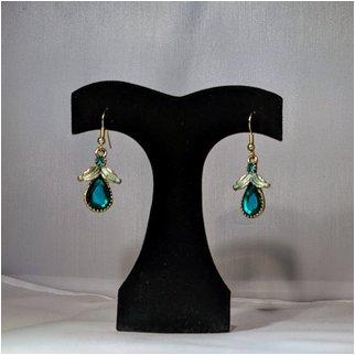 Product thumbnail: Blue Crystal Earrings