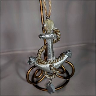 Product thumbnail: Silver Anchor with Rope