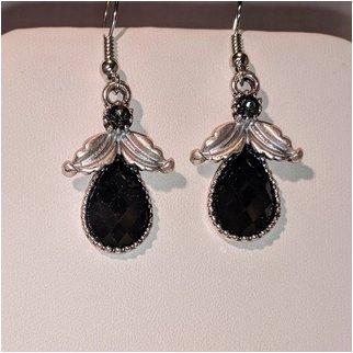 Product thumbnail: Black Drop Earrings