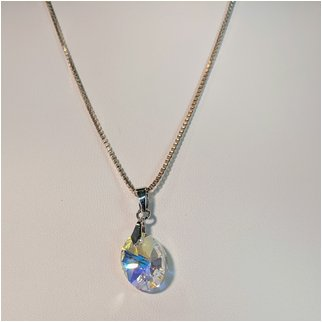 Product thumbnail: Clear Crystal Swarovski Necklace