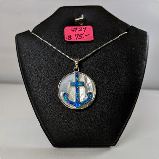 Product thumbnail: #27 Opal Anchor Sterling