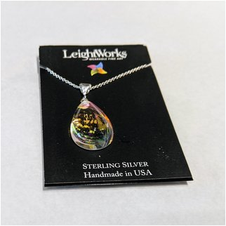 Product thumbnail: Crystal Pear Shaped LeightWorks Pendant