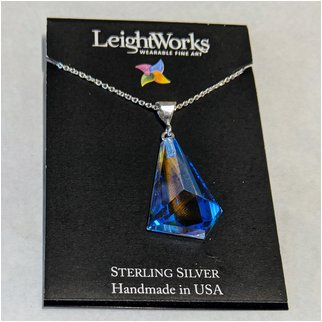 Product thumbnail: Dark Blue Glacier Leightworks Pendant