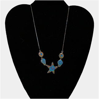 Product thumbnail: Starfish and Shells With Opal