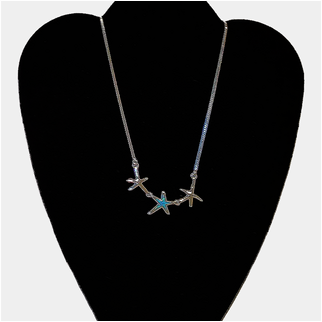 Product thumbnail: Starfish Trio With Opal