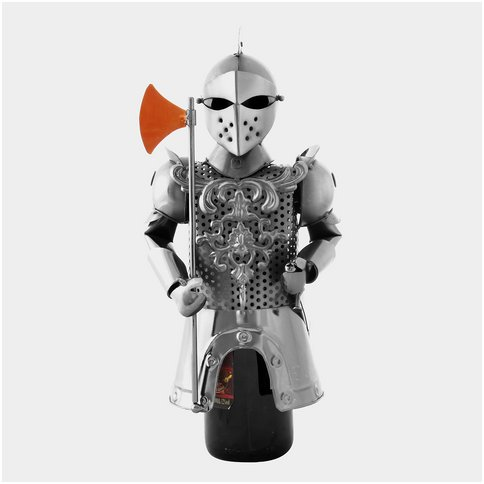 Knight With Axe And Sword