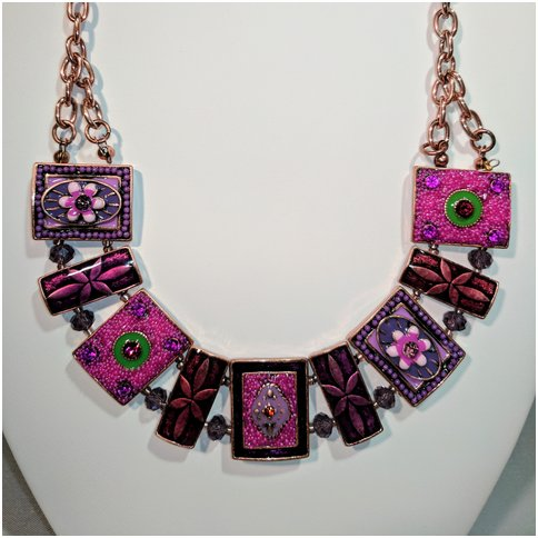 Pink/Purple Metals and Crystals