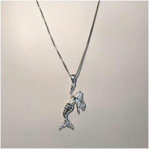 Mermaid Necklace with CZ