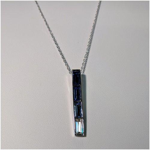 Shades of Blue Swarovski Necklace