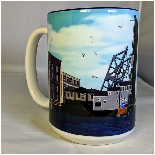 Mystic Drawbridge Mug