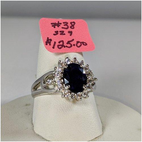 #38 Sapphire Ring