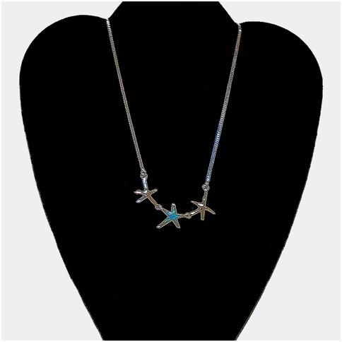 Starfish Trio With Opal