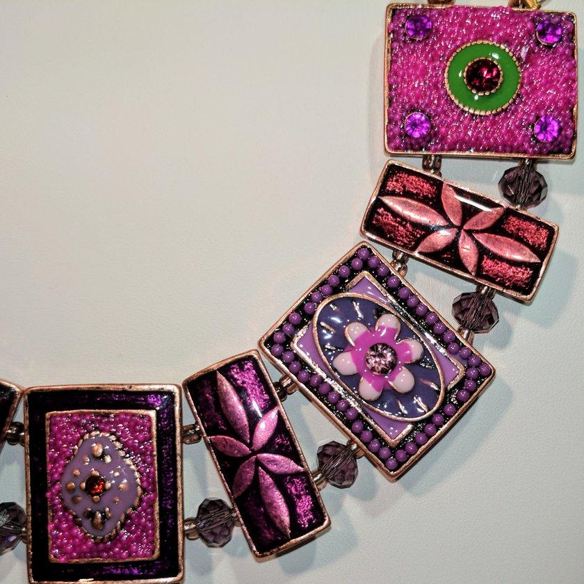 Pink/Purple Metals and Crystals