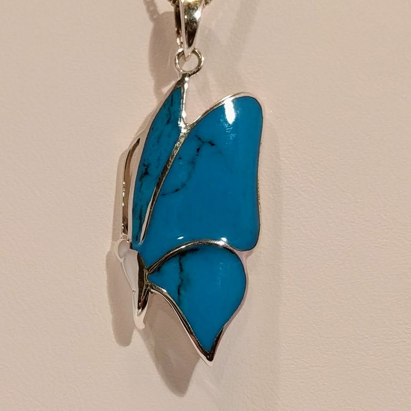 Butterfly Light Blue