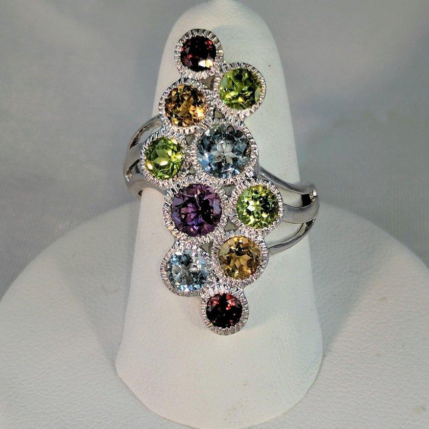 Multi Stone Ring