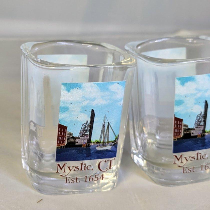 Mystic Drawbridge Shot Glass