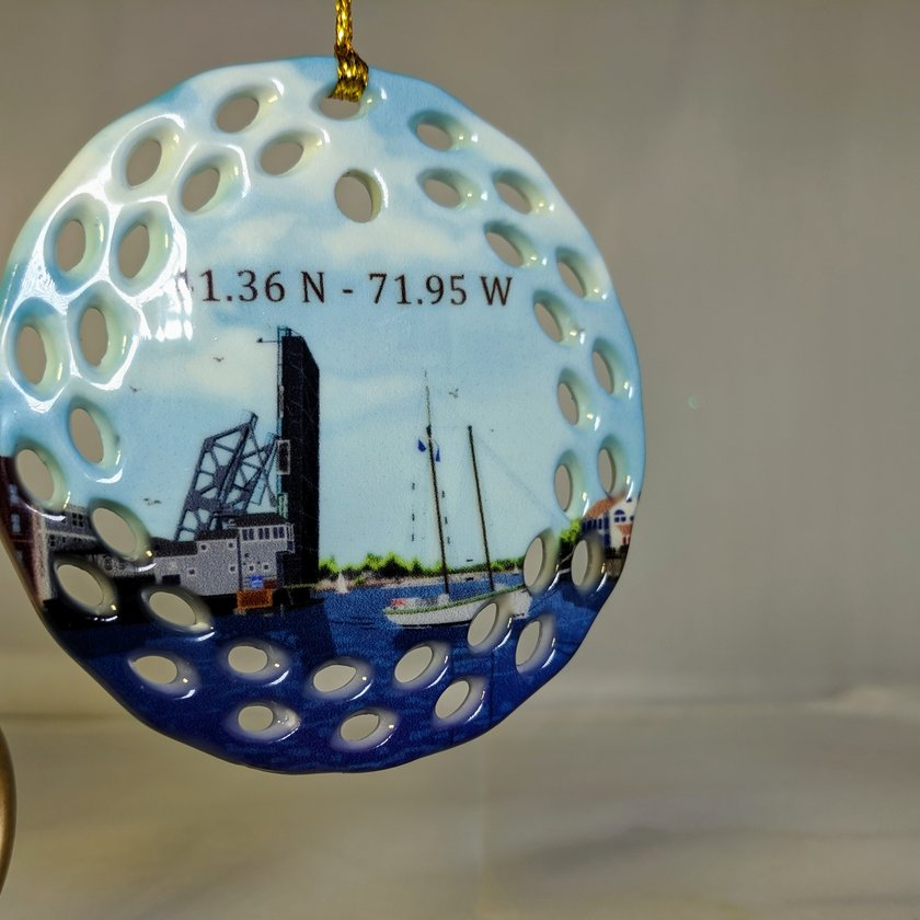 Mystic Drawbridge Ornament